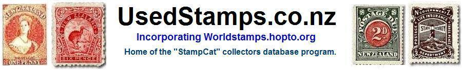 UsedStamps.co.nz  A website for stamp collectors.